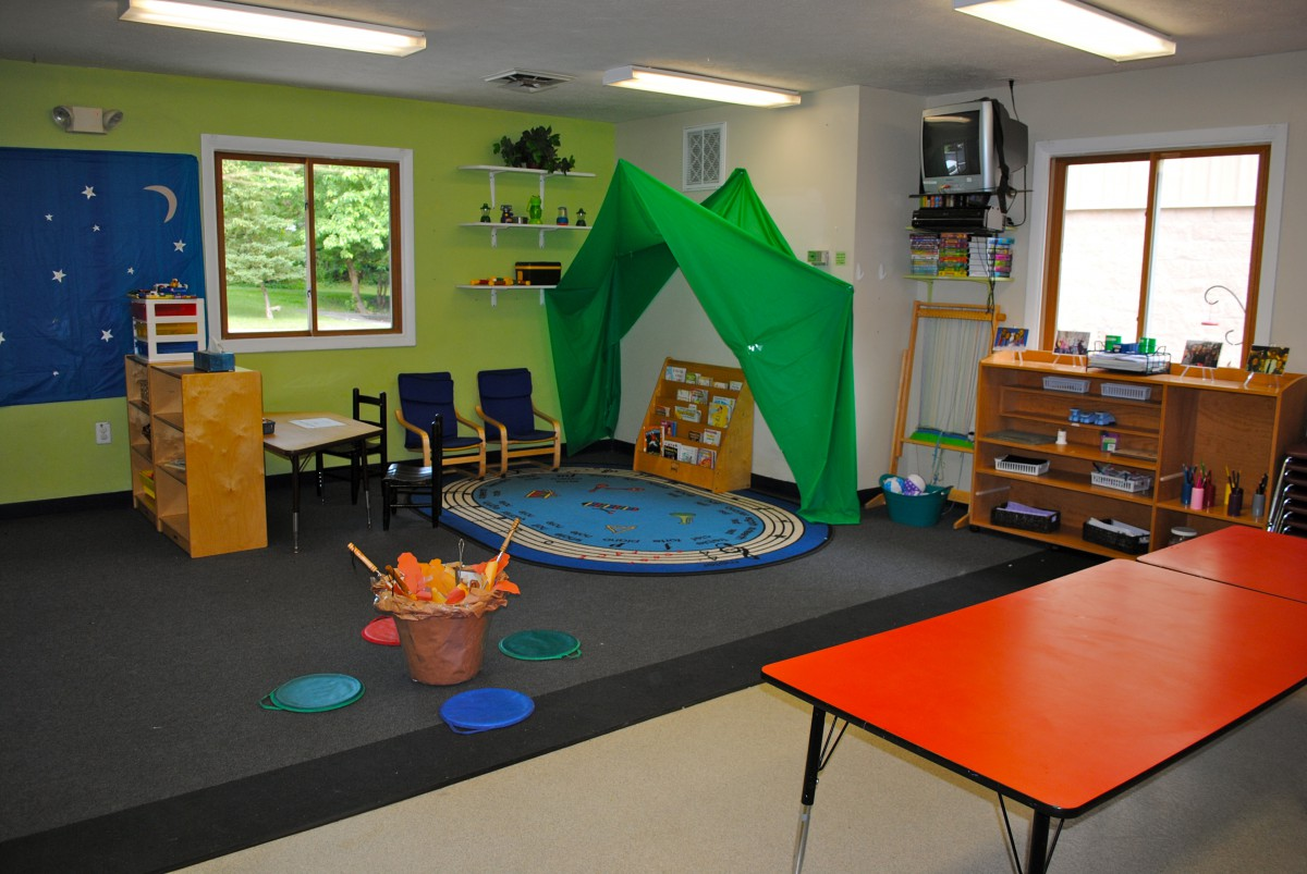 School Age Summer Camp Room