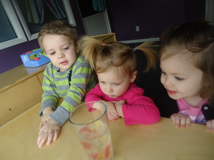 Image of children in young toddler program